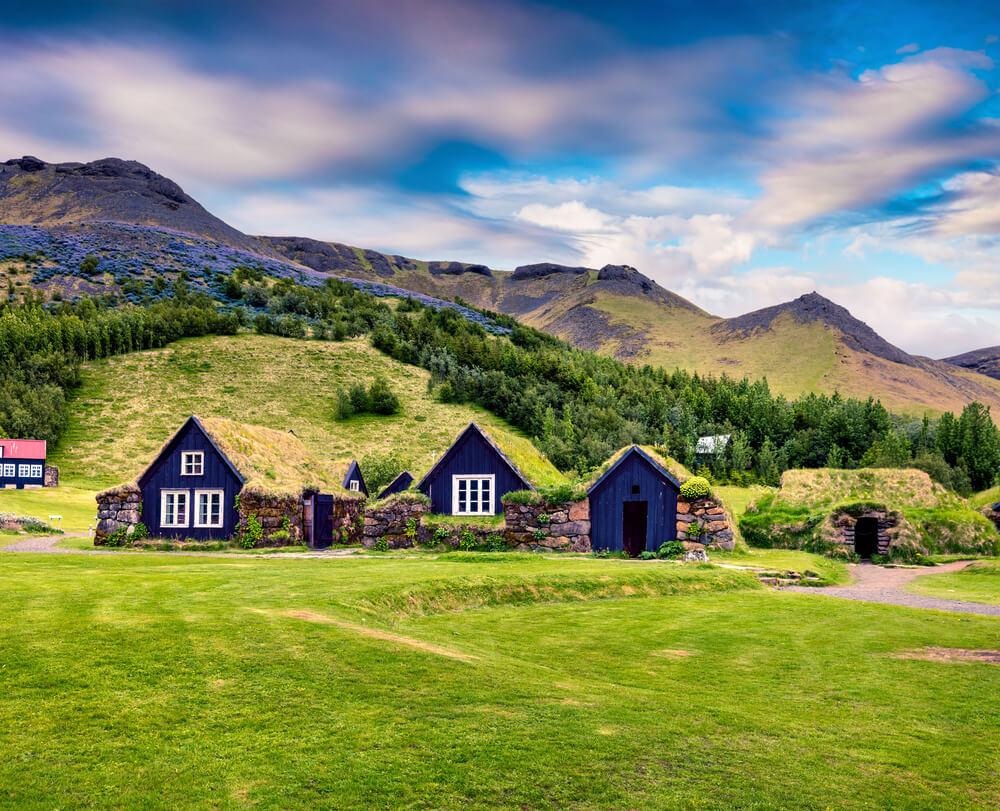 Icelandic Turf Houses Classic Iceland