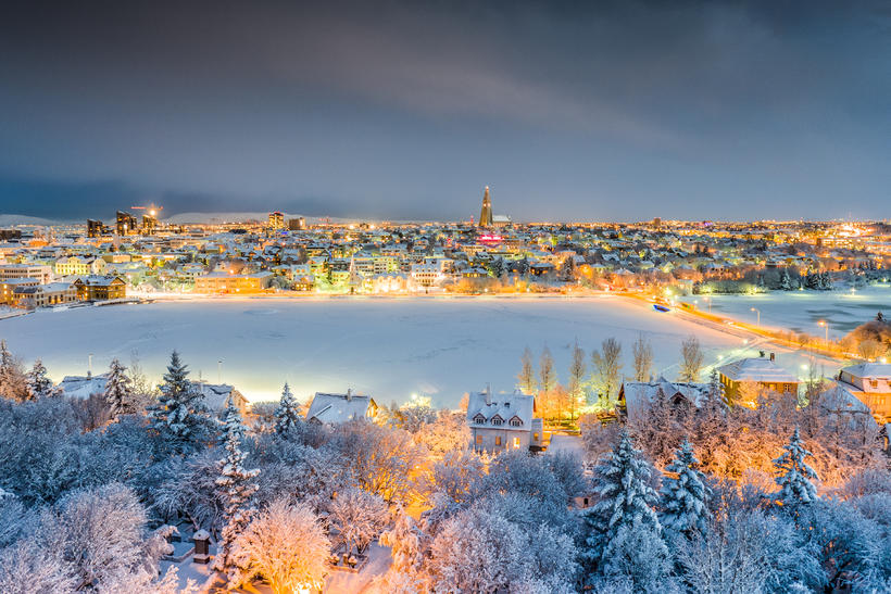 view larger image - Christmas In Iceland